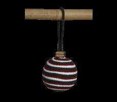 Bombka trzykolorowa