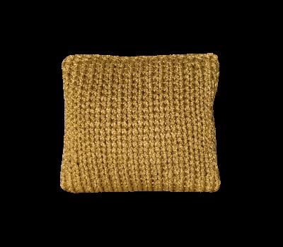Poduszka złota 35x35